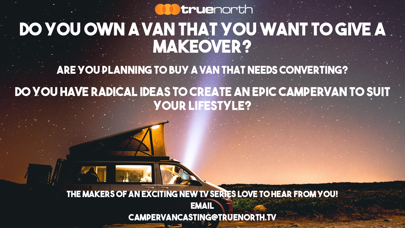 Casting Call For Campervan Conversion TV Show